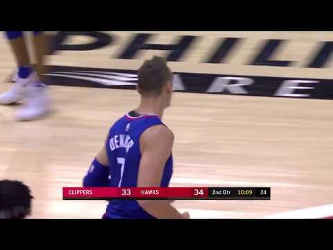 LA Clippers vs Hawks Full Highlights   11-22-17