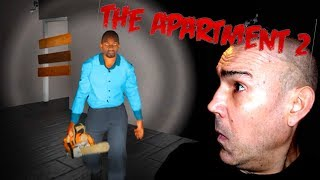 LITTLE CHAINSAW MASSACRE | THE APARTMENT 2 | LET'S PLAY INDIE HORROR | FACECAM
