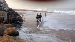 Coastal Flooding in Imperial Beach  King Tides 1/30/2014