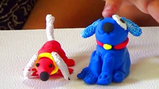 Милые собачки получились у Стефании    Бабушкины Сказки