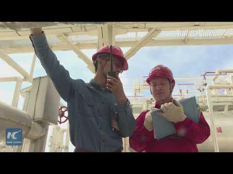 Major natural gas well starts production in China's Xinjiang