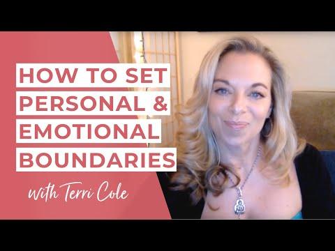 Setting Personal and Emotional Boundaries - 2016 - Terri Cole -Real Love Revolution