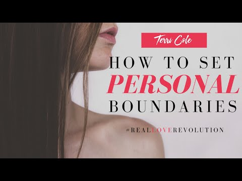 Setting Personal And Emotional Boundaries - 2016 - Terri Cole -Real Love Revolution