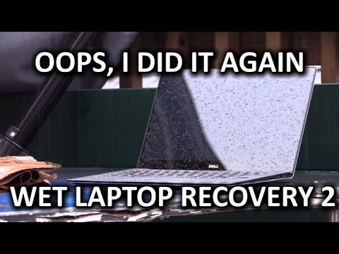 Wet Laptop Recovery AGAIN  Dell XPS 13