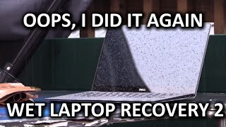 Wet Laptop Recovery AGAIN - Dell XPS 13