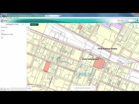 PlanWA interactive planning map - Department of Planning, Lands and