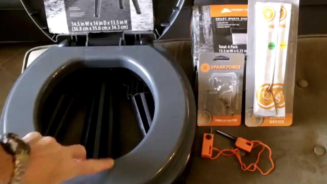 Superb Ozark Trail  Portable Toilet  Review   YouTube