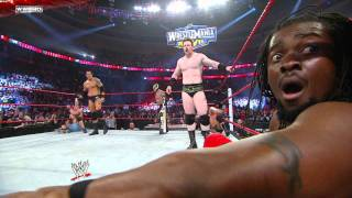 Diesel returns to WWE at Royal Rumble 2011