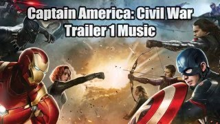 Captain America: Civil War Trailer 1 Music - Dean Valentine- Sharks Don't Sleep [Trailer Edit]