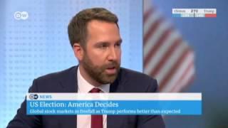 US Election Night 2016 - Deutsche Welle live coverage