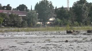 Набережная реки Мзымта 26.06.15. после ливня