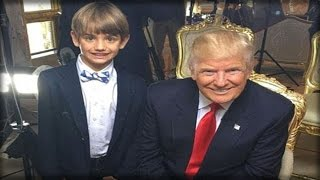 OH MY GOD! LOOK WHAT 2 SECRET SERVICE AGENTS DID TO TRUMP'S 8 YR OLD GRANDSON WHILE HE SLEPT!