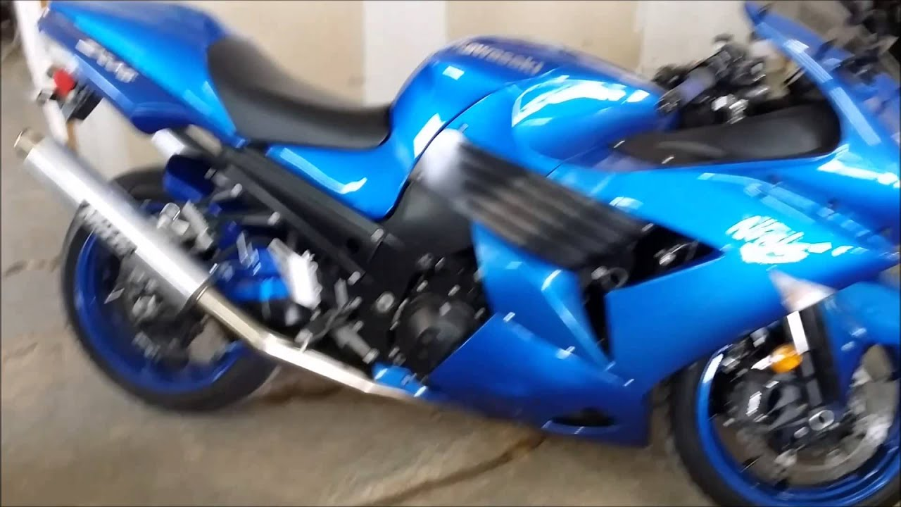 2007 used kawasaki zx14r crotch rocket for sale u2007 youtube. Black Bedroom Furniture Sets. Home Design Ideas