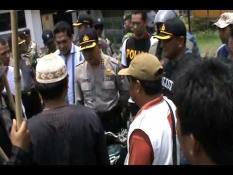 Bali Vs Lampung -- 28 OKTOBER 2012 MEDIASI POLISI DENGAN WARGA