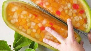 Fun & Festive Watermelon Jelly Slices