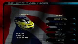 ToCA 2 Touring Cars - Collection of Skins (1996-2000), feat. Tiff Needell Easter Egg