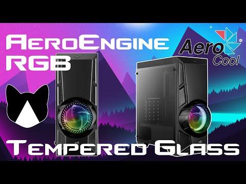 Котику нравится! Обзор корпуса Aerocool AeroEngine RGB Tempered Glass.