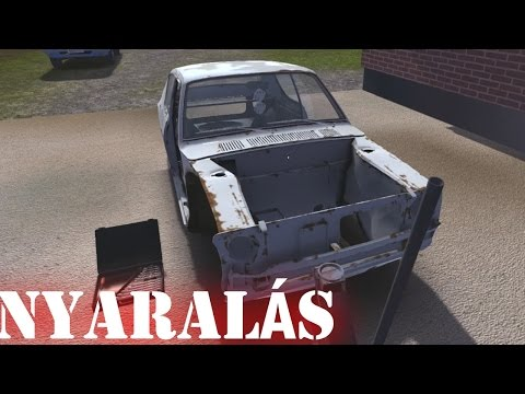 My summer car gameplay (HUN) - Nyaralás #1