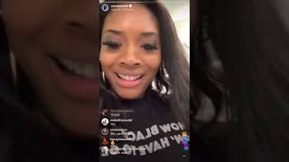Yandy Smith Harris celebrates Her foster child Infinity's 17 birthday party. Live with IG fan