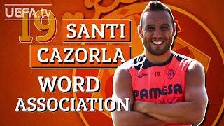 SANTI CAZORLA plays WORD ASSOCIATION