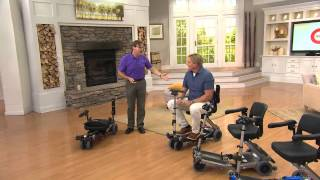 The Luggie Portable Foldable Mobility Scooter with Rick Domeier