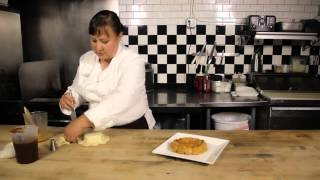 Puff Pastries With Brie & Caramel Sauce : Wild Flour