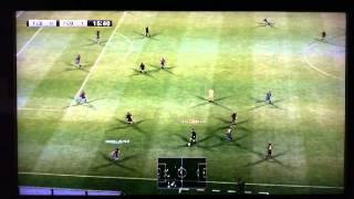 PES 2012 PARTIDA RAPIDA ONLINE PS3 PRIMEIRO TEMPO