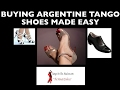 Buying Argentine Tango Shoes Made Easy