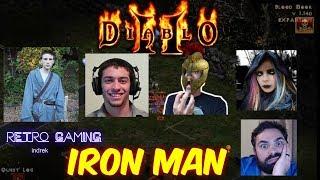 Xtimus vs MrLlamaSc vs DjWaters22 vs Alarashade vs Indrek vs Beardly357 - IRONMAN - Diablo 2