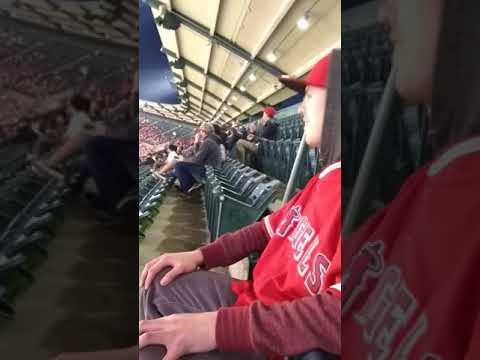 Shohei Ohtani First Major League at Angels Stadium!!!