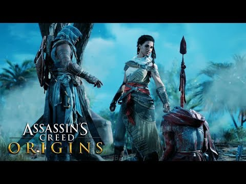 ASSASSIN'S CREED ORIGINS All Cutscenes Movie (Xbox One X)