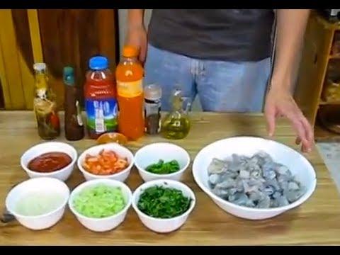 Como preparar coctel de camar n receta mexicana youtube - Coctel de marisco ingredientes ...