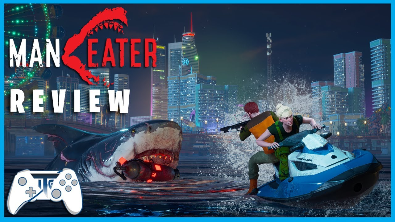 Maneater Review - Chomp Chomp! (Video Game Video Review)