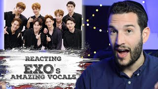 Vocal Coach  Reacts To Exo Amazing Vocals