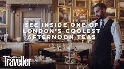 See inside one of London's coolest afternoon teas | Condé Nast Traveller