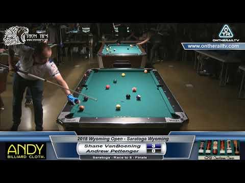 Shane VanBoening vs Andrew Pettenger - 2018 Wyoming Open