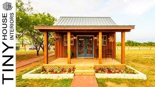 Pioneer-style Tiny Cabin Vacation In Waco, Texas   Tiny House Interiors