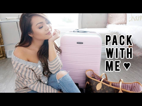How To Pack: 5 Days in a Carry On | Mexico City #CharsTravels | Charmaine Dulak
