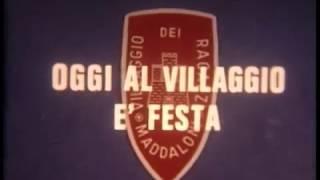Il presidente del consiglio on. giulio andreotti, in visita per la sesta volta alla fondazione villaggio dei ragazzi di maddaloni (ce)