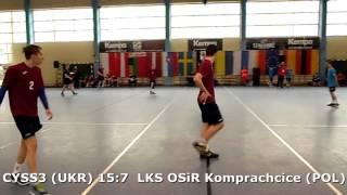 U15 boys. Group M02 gr 2. Lajkonik cup 2017. LKS OSiR Komprachcice - CYSS 3 (UKR) - 17:24 (2nd half)