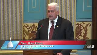 Sen. Horn on public health orders and mismanagement of COVID-19 response