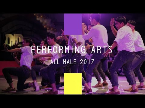 DBHS Performing Arts Rally 2017-  ALL MALE