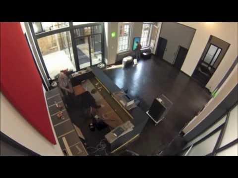 Umbau der Lobby bei MetaDesign Berlin