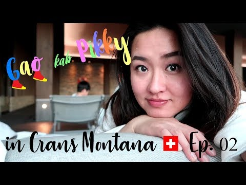 SKI Weekend in Crans Montana, Switzerland (Day 2) : เที่ยวสวิตเซอร์แลนด์