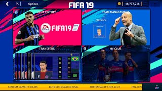 FIFA 19 Mod DREAM LEAGUE SOCCER 2019 v6.05 Android ( 300MB Full HD Graphics )