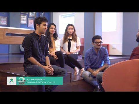 MGB Students & Staff talk to Salaam Namaste, Singapore about the tri-city experience