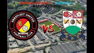 Ebbsfleet United F.C. 1 v Barnet F.C. 0 | Poor Customer Service | GAMEDAY! Vlog! (08/12/18)
