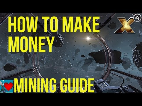 X4 Foundations - How to Make Money | Mining Guide