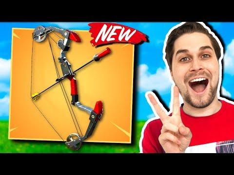 Nieuwe Boom Bow Schiet Super Raar! 🤔 - Fortnite Battle Royale (Nederlands)