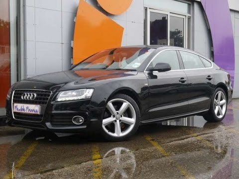 2010 audi a5 sportback s line 2 7 v6 tdi 4dr black for sale in hampshire youtube. Black Bedroom Furniture Sets. Home Design Ideas